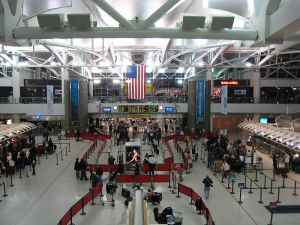 Terminal aéroport JFK New York