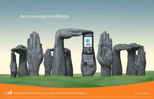 ATT Angleterre - AT&T et la communication visuelle par les mains