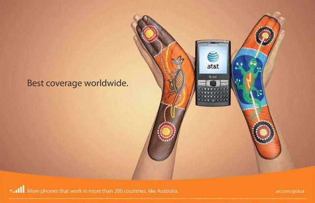 ATT Australie - AT&T et la communication visuelle par les mains