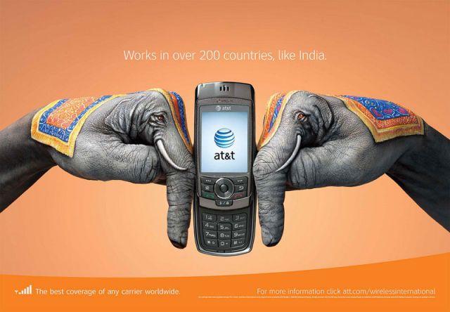 ATT Inde - AT&T et la communication visuelle par les mains