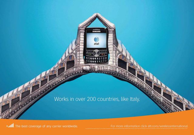 ATT Italie - AT&T et la communication visuelle par les mains