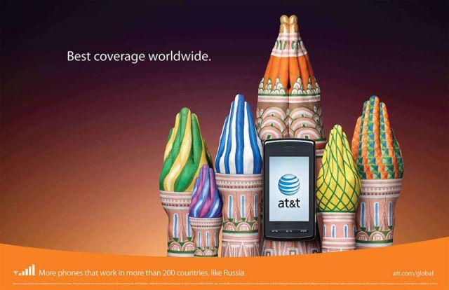 ATT Russie - AT&T et la communication visuelle par les mains