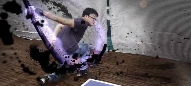 Vidéo - Une partie de ping pong entre amis, ça détend ! 1