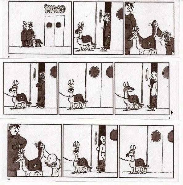 [BD Humour] - Un chien policier vraiment spécial ... 1