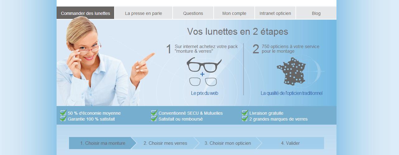 d679bc54144657 Easy verres - Des lunettes de vue sur internet   Des opticiens l ont fait