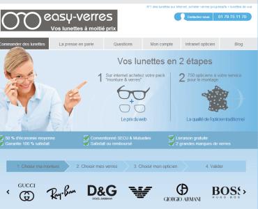 Easy verres - Des lunettes de vue sur internet ? Des opticiens l'ont fait pour vous !