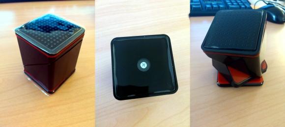 support cube noir 4 - Test du support bureau et voiture universel Cube - Noir