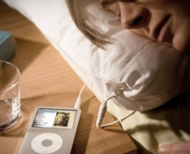 Test de l'oreiller avec haut-parleur intégré iMusic 2