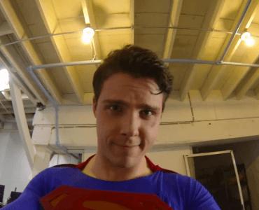 Si Superman avait une GoPro