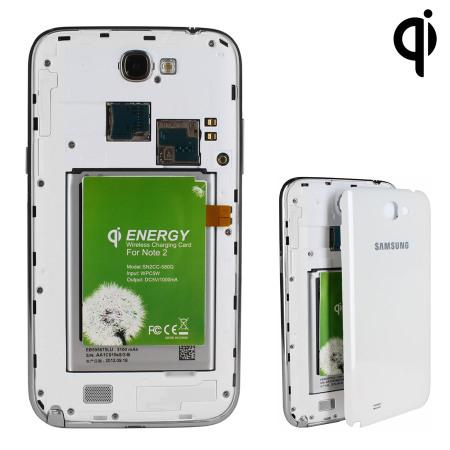 Test de l'adaptateur de charge sans fil pour Samsung Galaxy Note 2 Qi 1