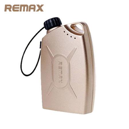 remax bidon - Test du chargeur Remax Bidon de Gaz 6600mAh – Or