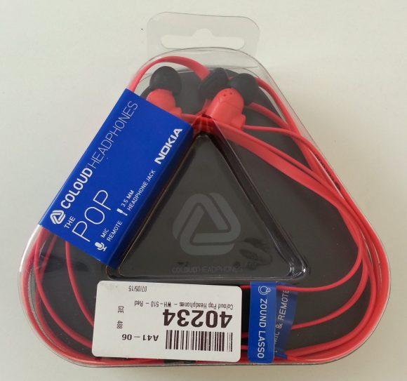 Écouteurs Nokia Coloud Pop Rouge