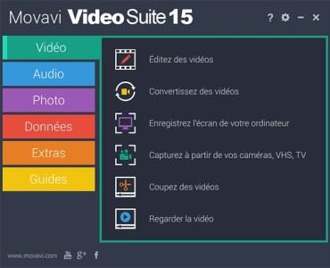 1 - Movavi Video Suite : créez des vidéos à couper le souffle !