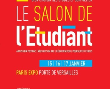 Affiche du salon de l'étudiant de Paris 2016