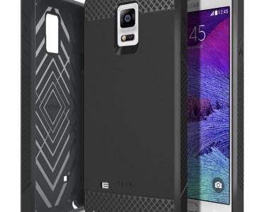 [Test] - Coque Obliq Flex Pro noire pour Samsung Galaxy Note 4 3