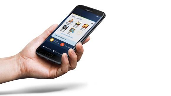 Galaxy S7 Samsung Game Launcher