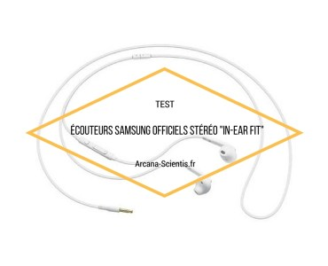 Ecouteurs Samsung In-Ear Fit 1