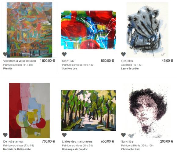 KAZoART galerie d'art en ligne - Oeuvres pour tous les prix
