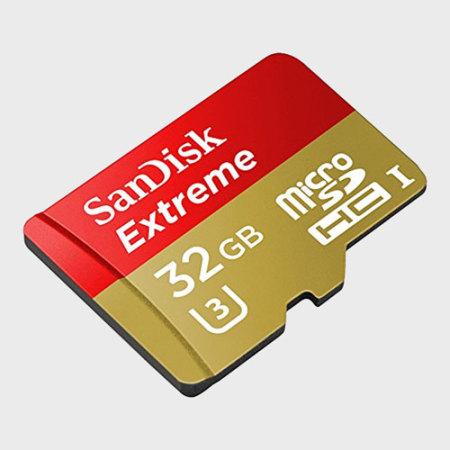 Test de la carte micro SDHC SanDisk Extreme avec adaptateur de 32Go 1