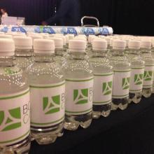 Bouteille d'eau personnalisée