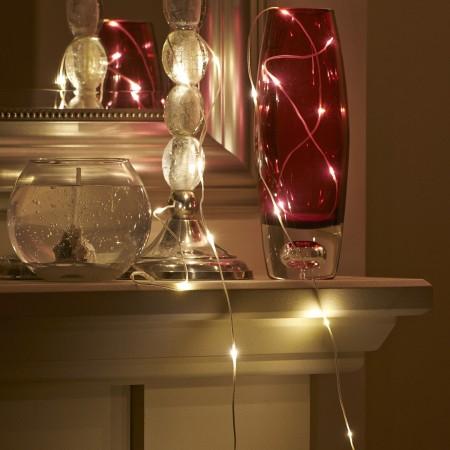 Les lumières micro LED AGL à piles de 2.3m sont du plus bel effet également sur des meubles.