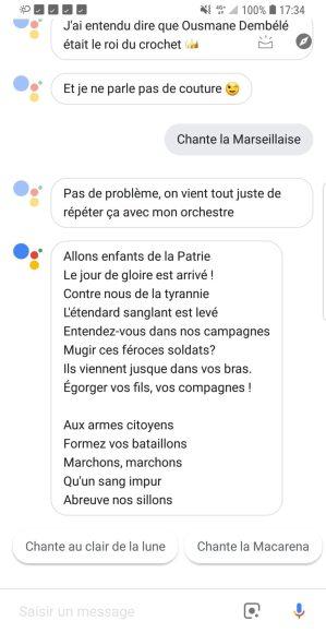 Google Assistant est enfin fonctionnel