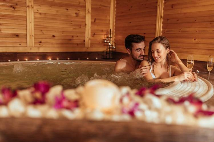 spa gonflable couple