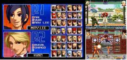 The king of Fighter 2002 Magic Plus