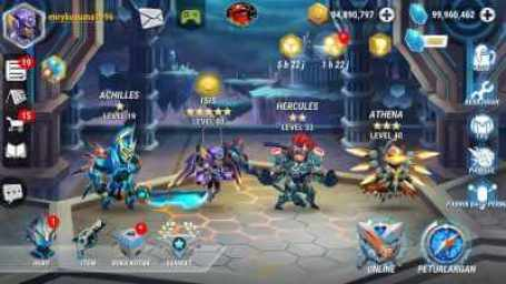 Heroes Infinity Apk MOD Unlimited para Android brutal juego