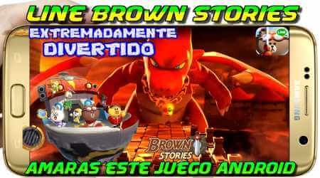Line Brown Stories Apk download