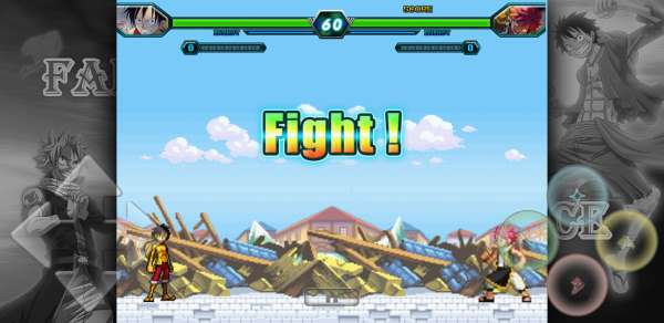 Mugen Fairy Tail vs One Piece