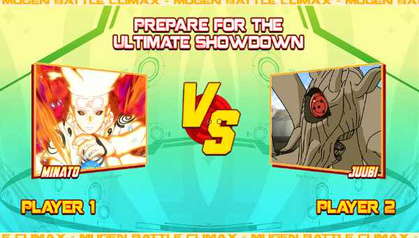 Mugen Battle Climax Naruto