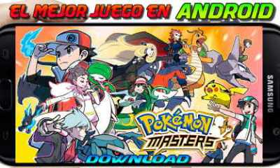 descargar pokemon master en Android