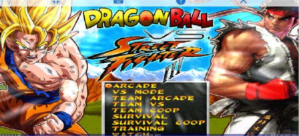 DragonBall vs Street Fighter Mugen para Android