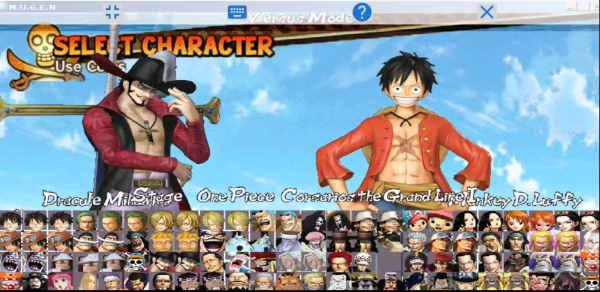 Mugen One Piece Corsarios