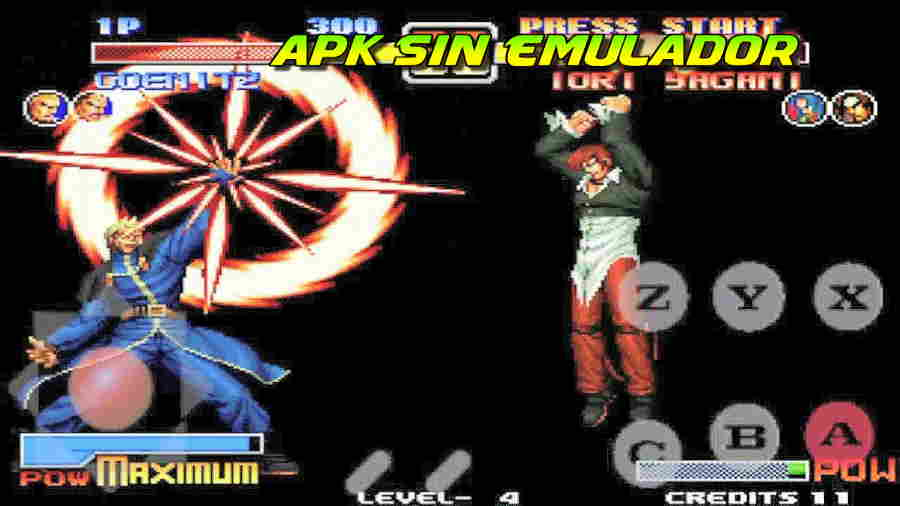 King Of Fighters 96 ultra magic apk