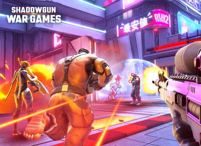 Increible Shadowgun War Games