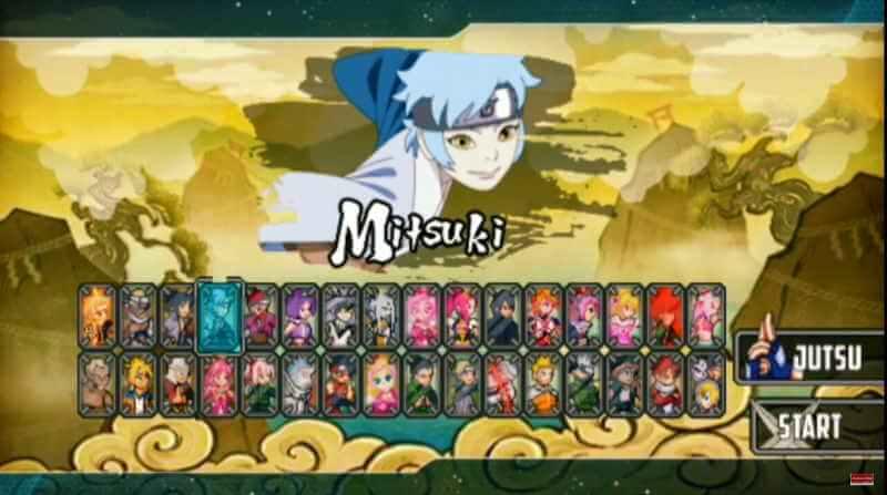 Naruto Senki Mod Chou