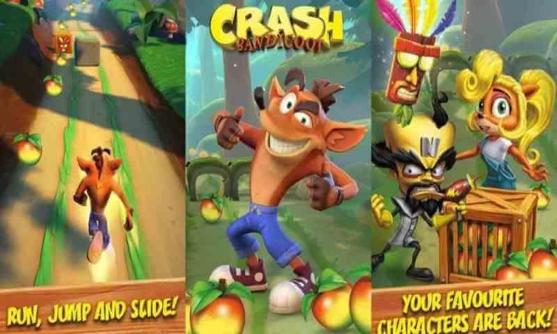 Crash Bandicot The Run