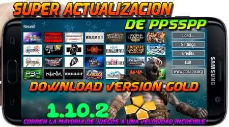 El mejor emulador PPSSP version gold 1.10.2