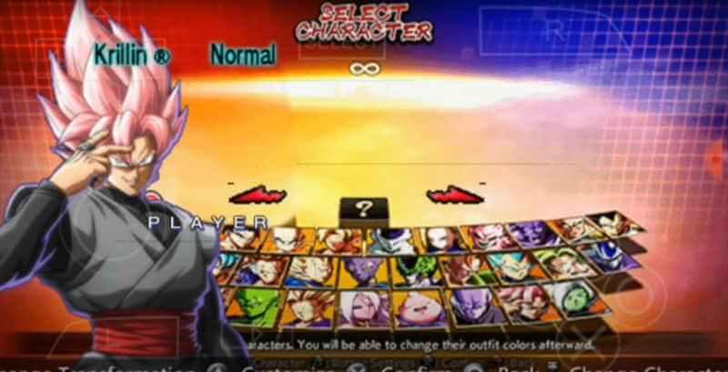 Nuevo Mod Dragon Ball Figther z