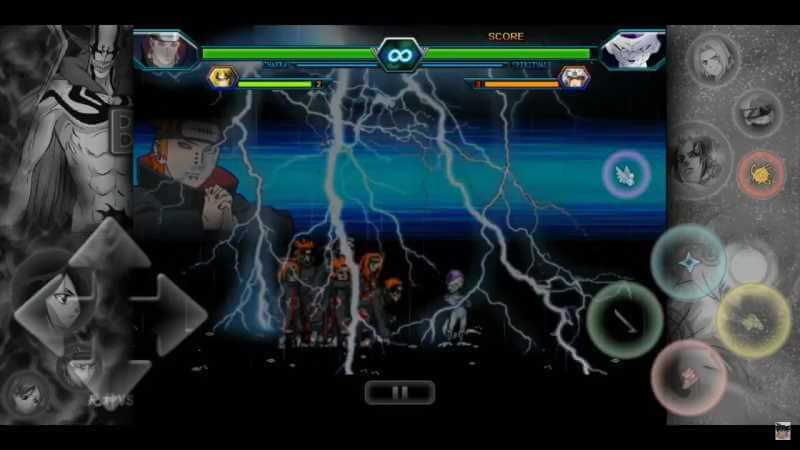 Dragon Ball vs Akatsuki.