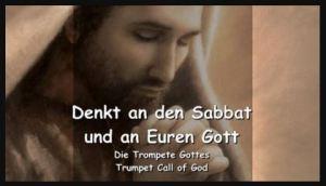 Sabbat ist am Samstag