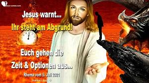 Warnung von Jesus Christus