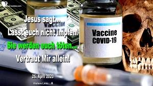 Lasst euch nicht impfen