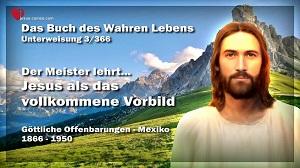 Jesus als das vollkommene Vorbild