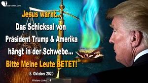 Schicksal von Präsident Trump