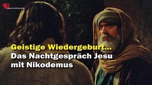 Nachtgespräch Jesu mit Nikodemus