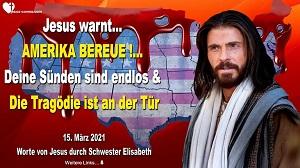 Warnruf von Jesus