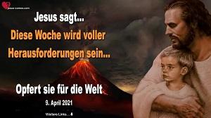 Botschaft von Jesus 2021